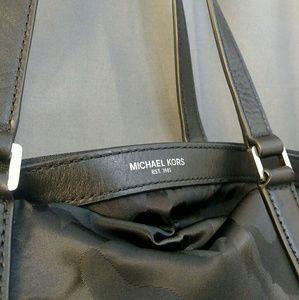 Michael Kors Bags - Michael Kors Black Camo Canvas bag